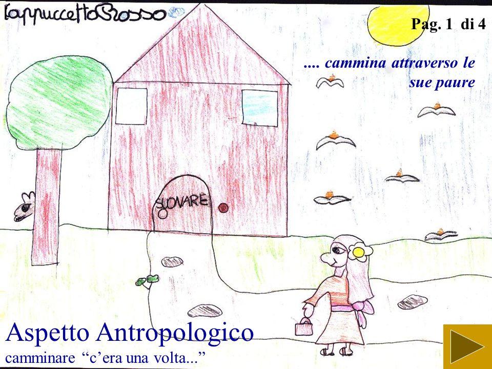 Aspetto Antropologico camminare c'era una volta...