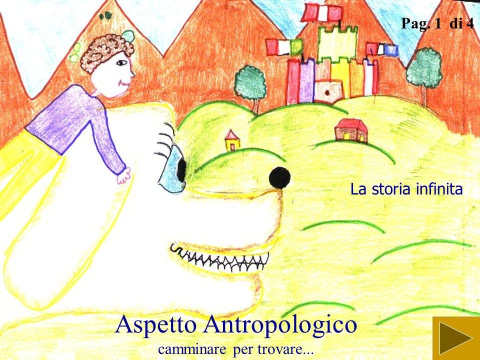 Aspetto Antropologico camminare per trovare...