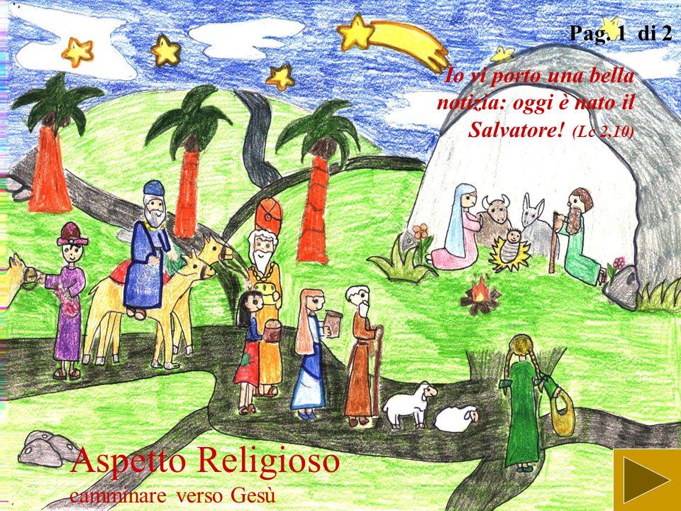Aspetto Religioso camminare verso Gesù