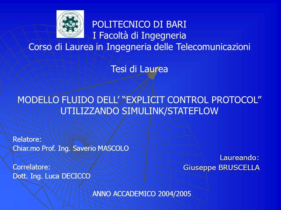 Laureando: Giuseppe BRUSCELLA
