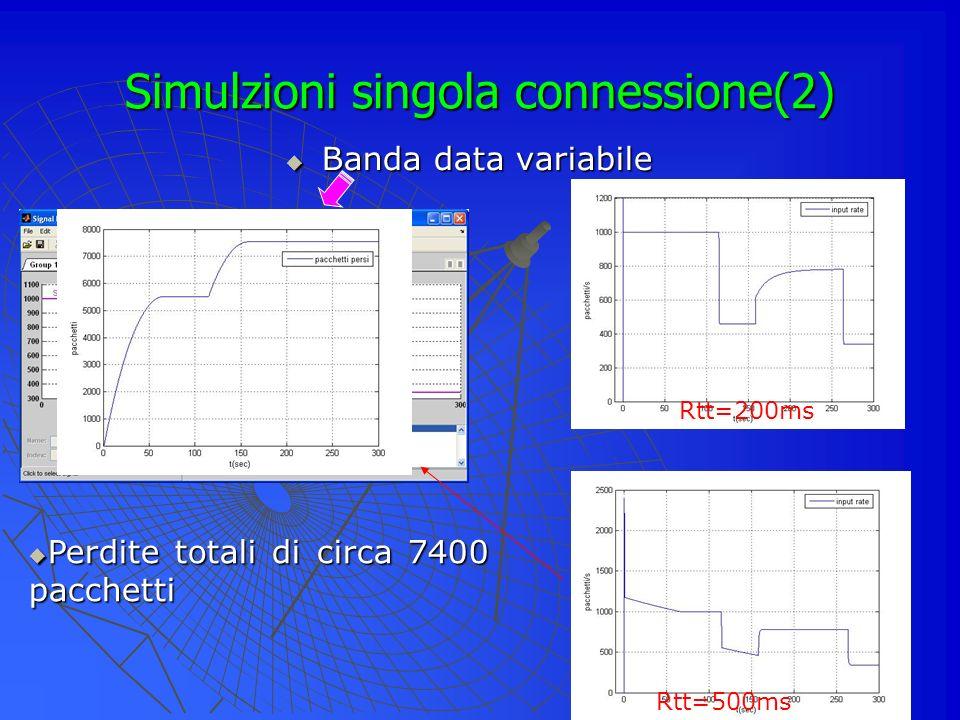 Simulzioni singola connessione(2)