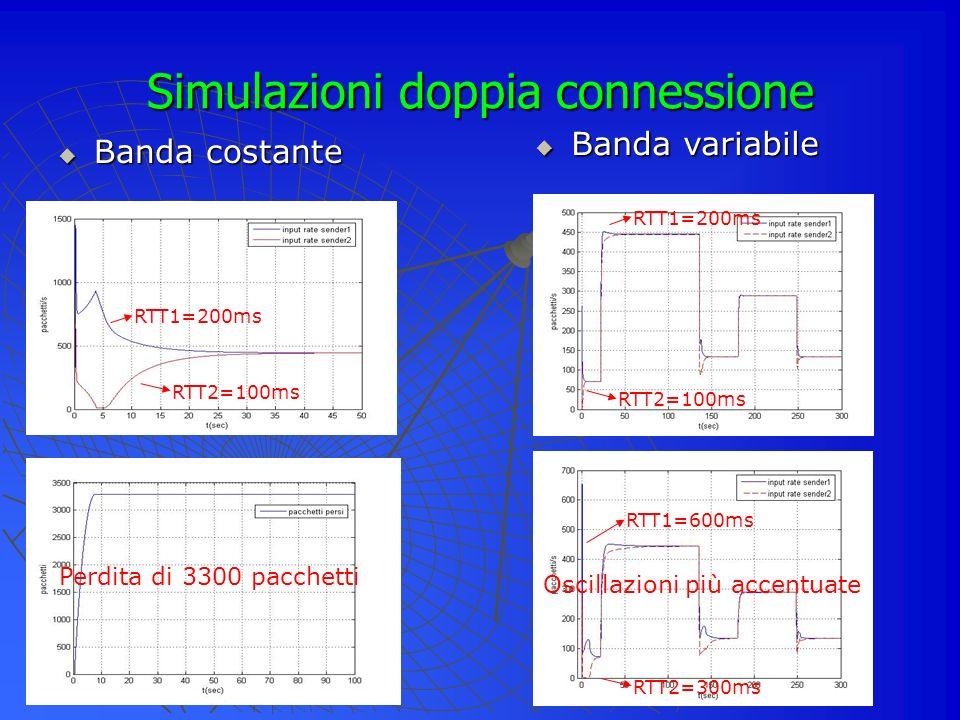 Simulazioni doppia connessione