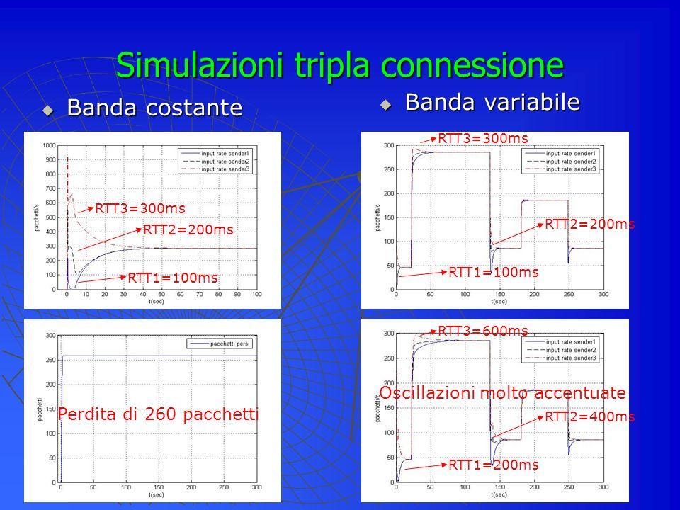 Simulazioni tripla connessione