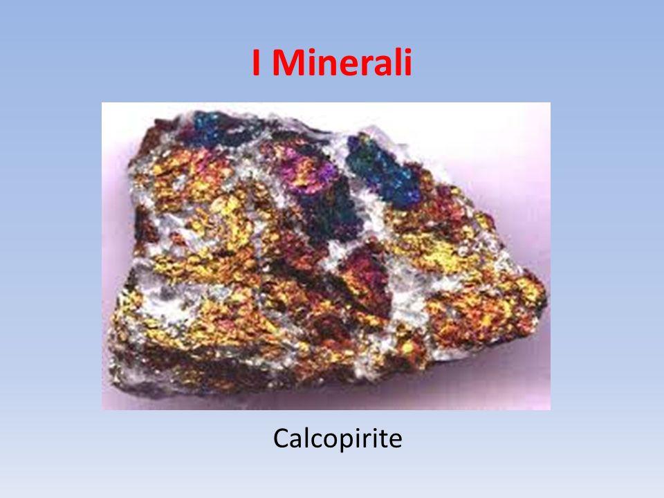 I Minerali Calcopirite