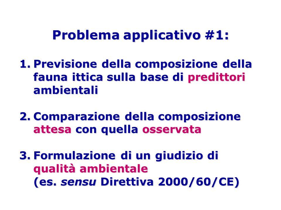 Problema applicativo #1:
