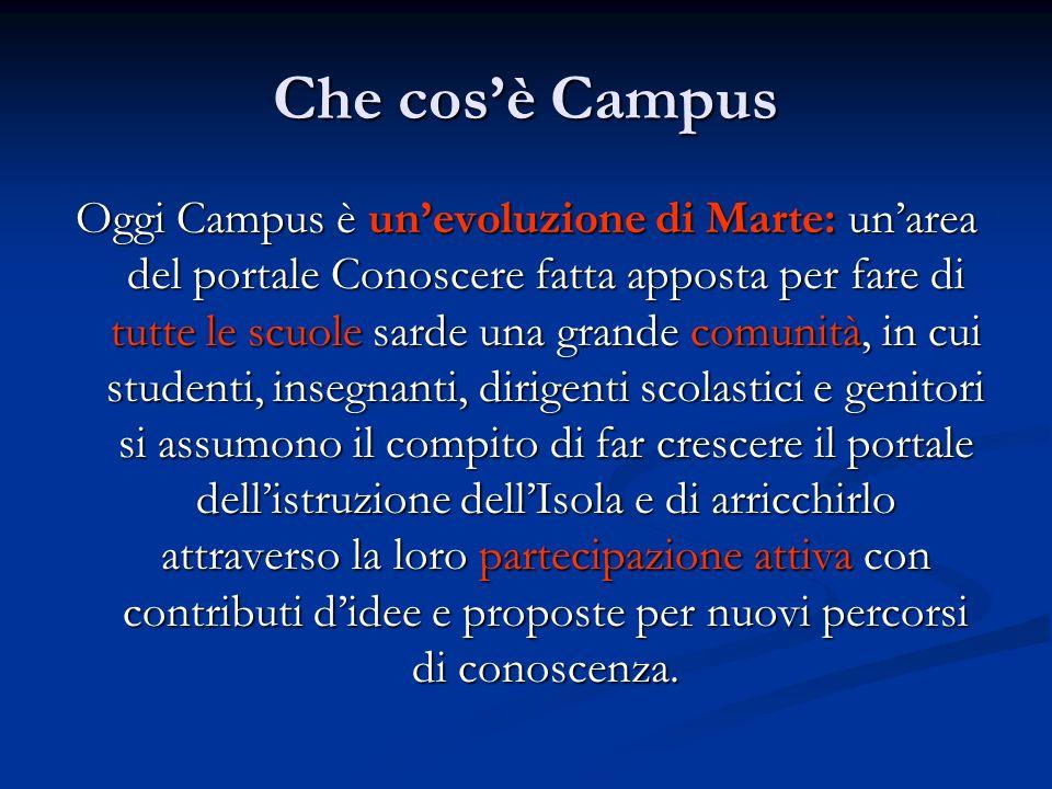 Che cos'è Campus