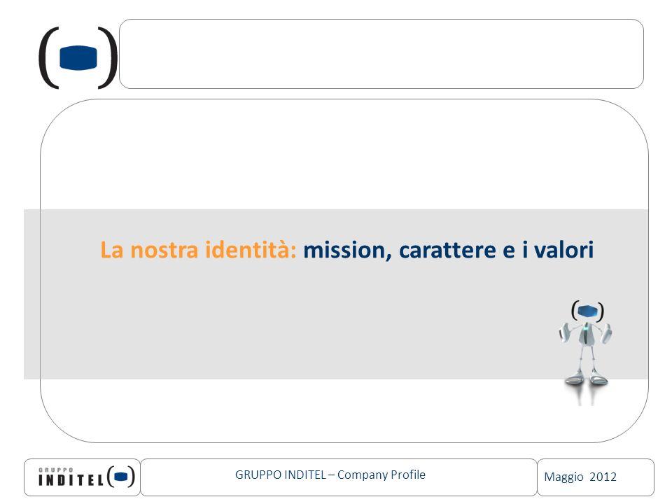 La nostra identità: mission, carattere e i valori