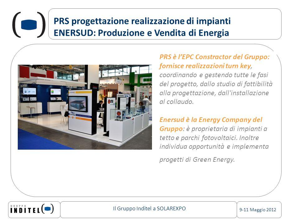PRS progettazione realizzazione di impianti ENERSUD: Produzione e Vendita di Energia