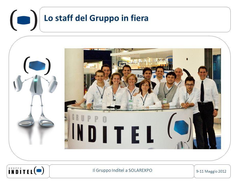 Lo staff del Gruppo in fiera
