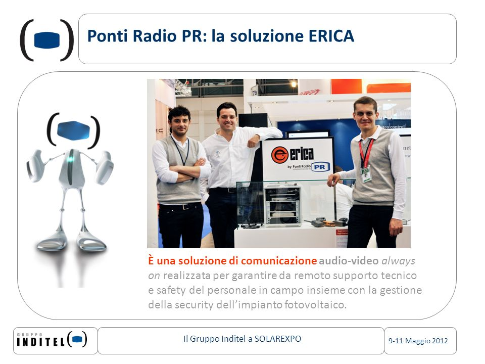 Ponti Radio PR: la soluzione ERICA