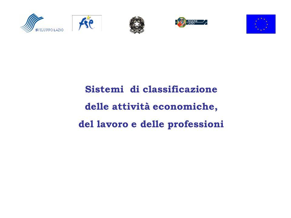 Sistemi di classificazione delle attività economiche,
