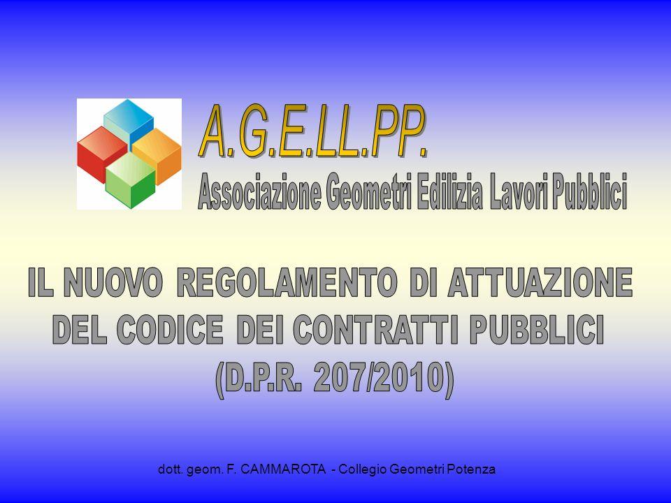 A.G.E.LL.PP. dott. geom. F. CAMMAROTA - Collegio Geometri Potenza
