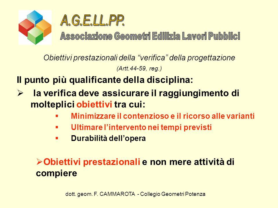 A.G.E.LL.PP. Il punto più qualificante della disciplina:
