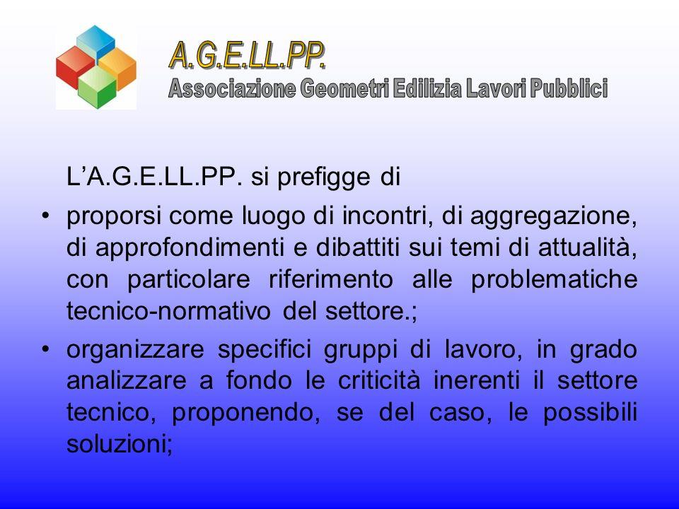 Associazione Geometri Edilizia Lavori Pubblici