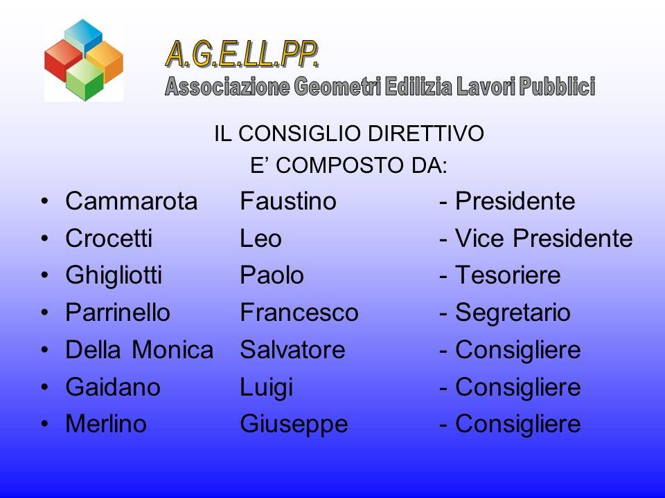 A.G.E.LL.PP. Cammarota Faustino - Presidente