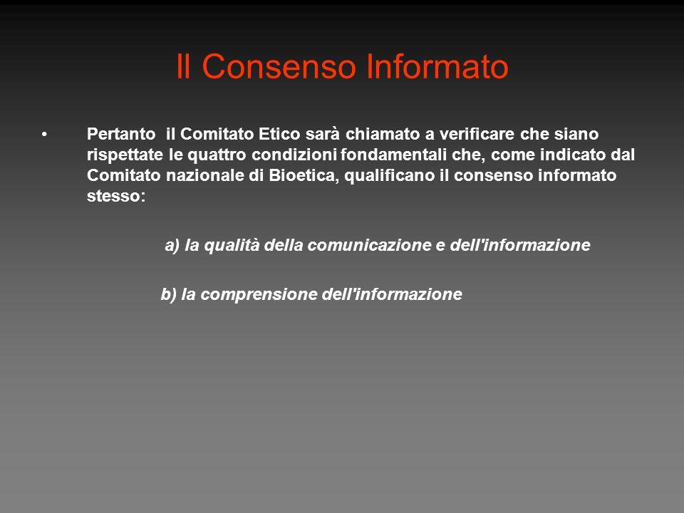 Il Consenso Informato