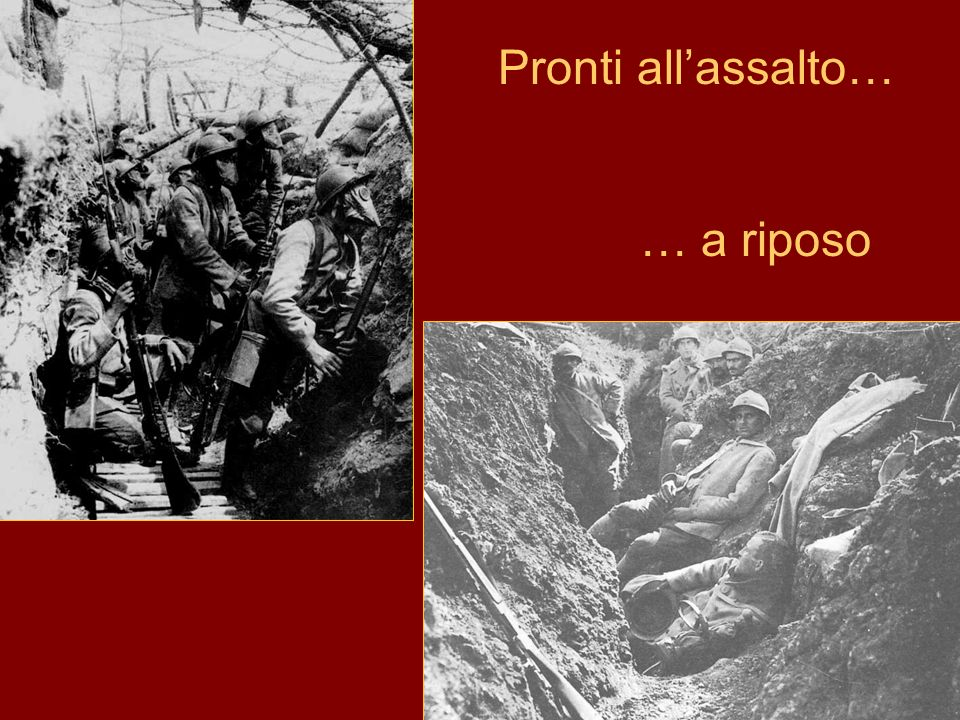 Pronti all'assalto… … a riposo