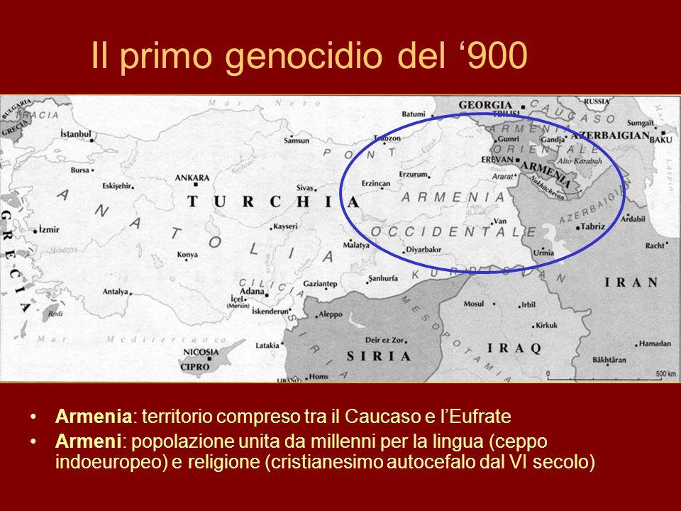 Il primo genocidio del '900