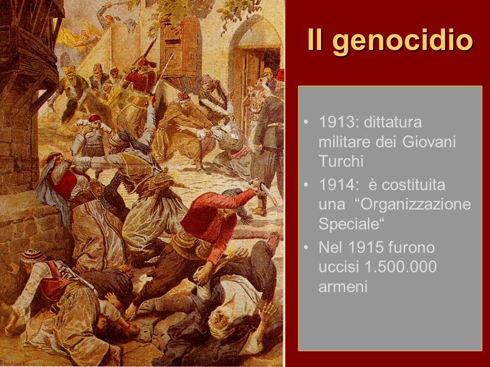 Il genocidio 1913: dittatura militare dei Giovani Turchi