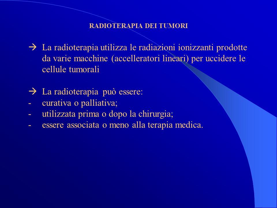 RADIOTERAPIA DEI TUMORI
