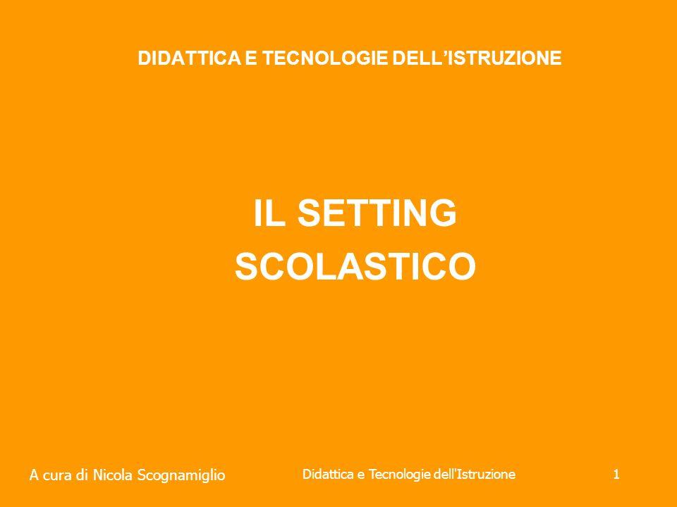 DIDATTICA E TECNOLOGIE DELL'ISTRUZIONE