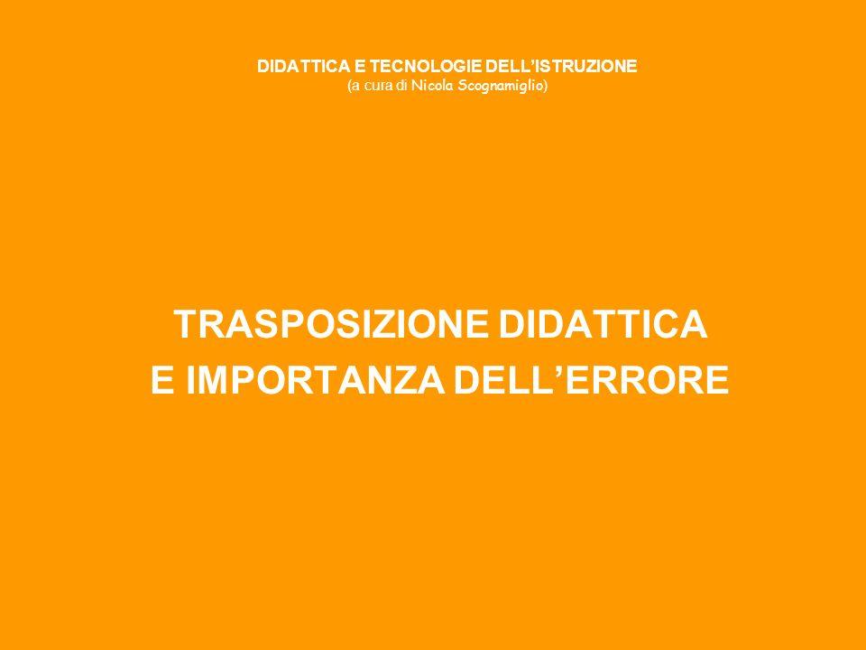 DIDATTICA E TECNOLOGIE DELL'ISTRUZIONE (a cura di Nicola Scognamiglio)