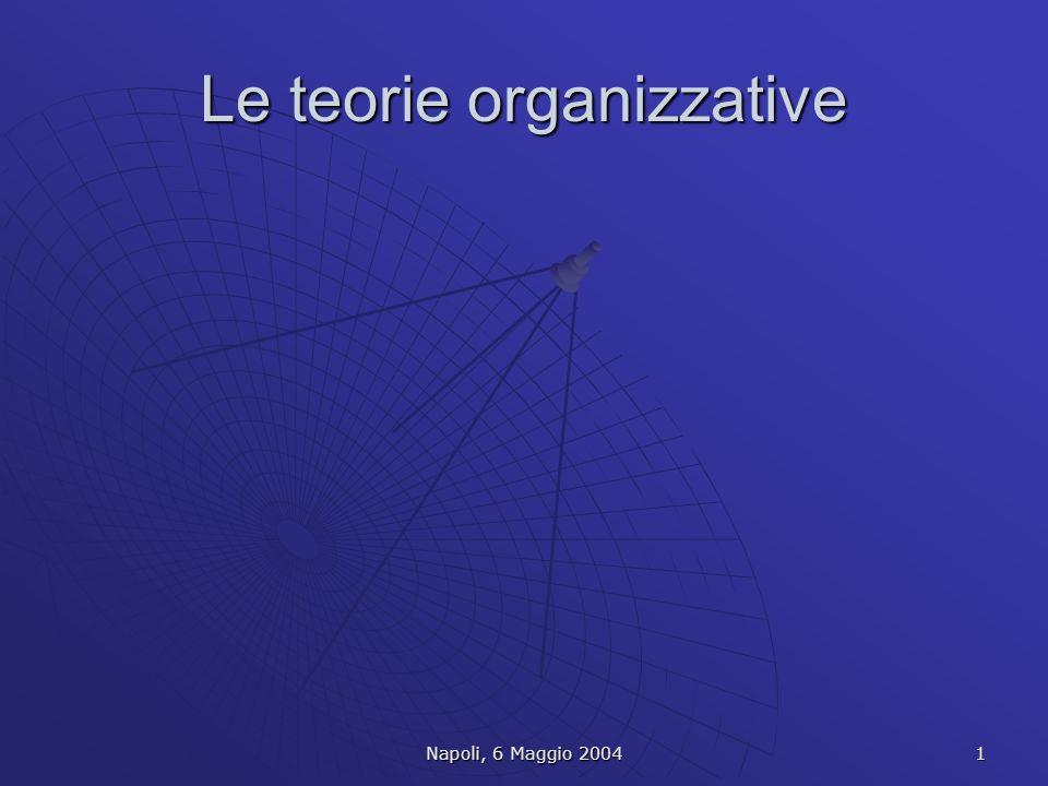 Le teorie organizzative