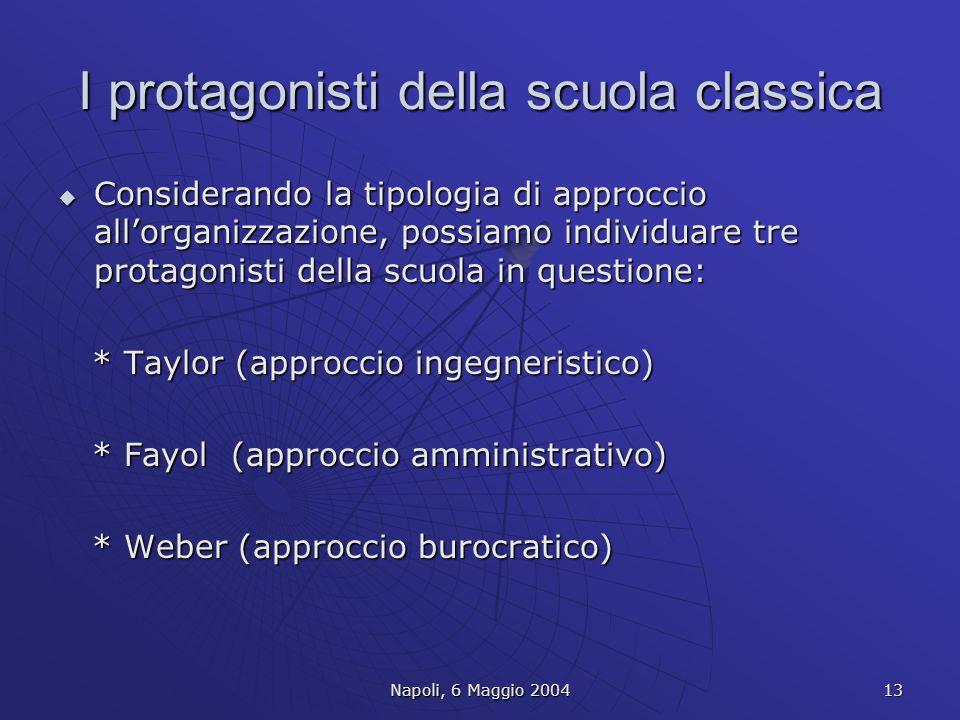 I protagonisti della scuola classica