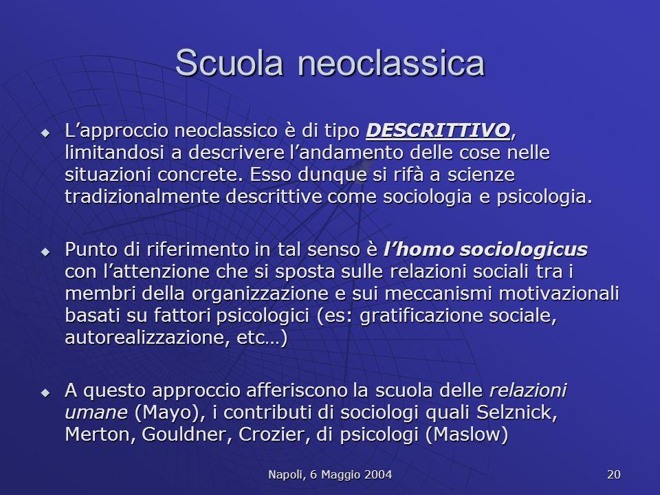 Scuola neoclassica