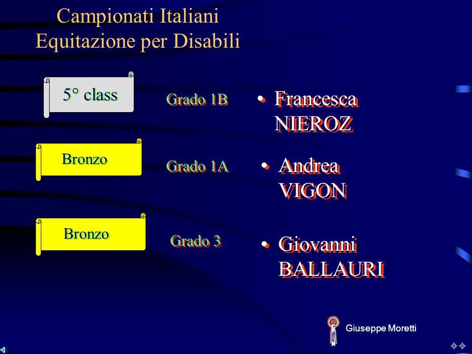 Campionati Italiani Equitazione per Disabili