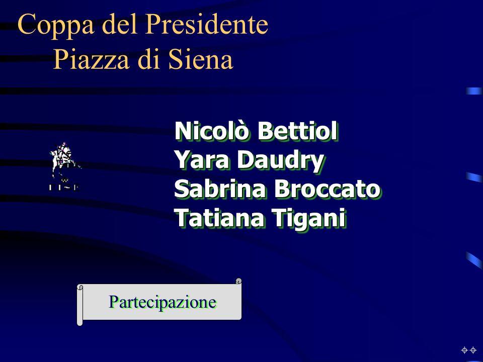Coppa del Presidente Piazza di Siena