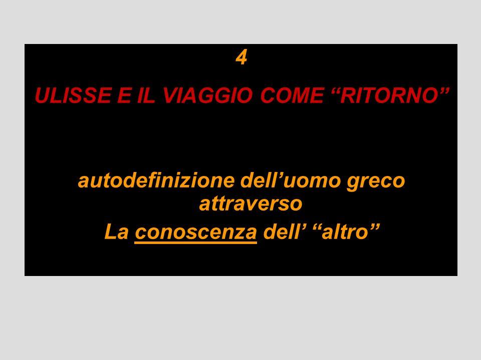 ULISSE E IL VIAGGIO COME RITORNO