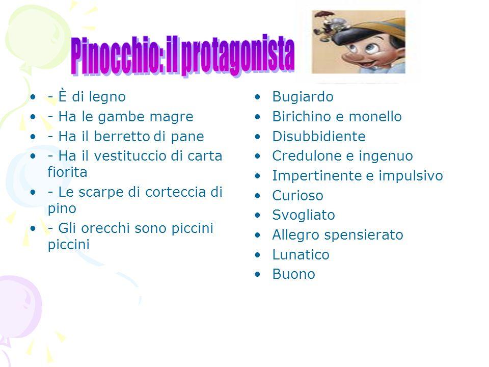 Pinocchio: il protagonista