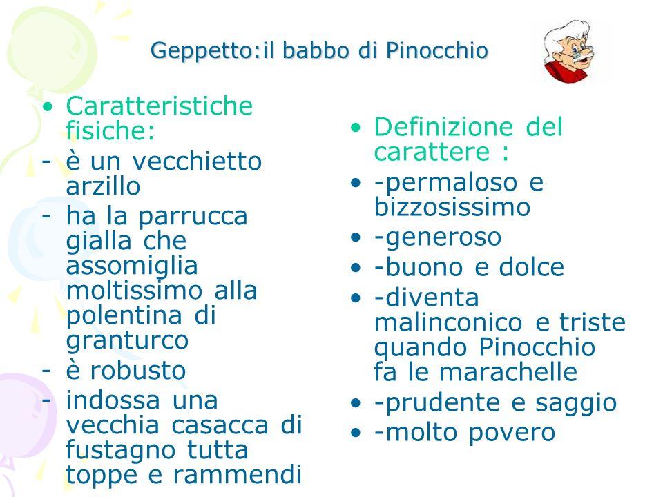 Geppetto:il babbo di Pinocchio