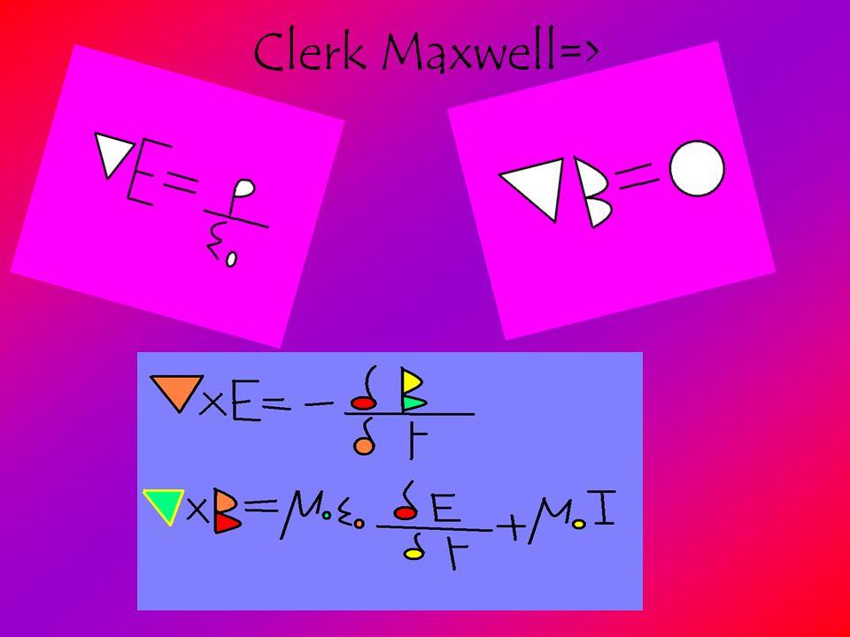 Clerk Maxwell=>