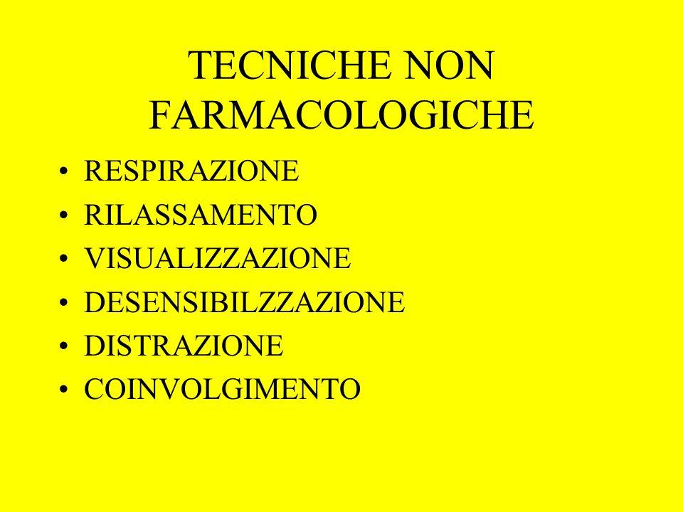 TECNICHE NON FARMACOLOGICHE