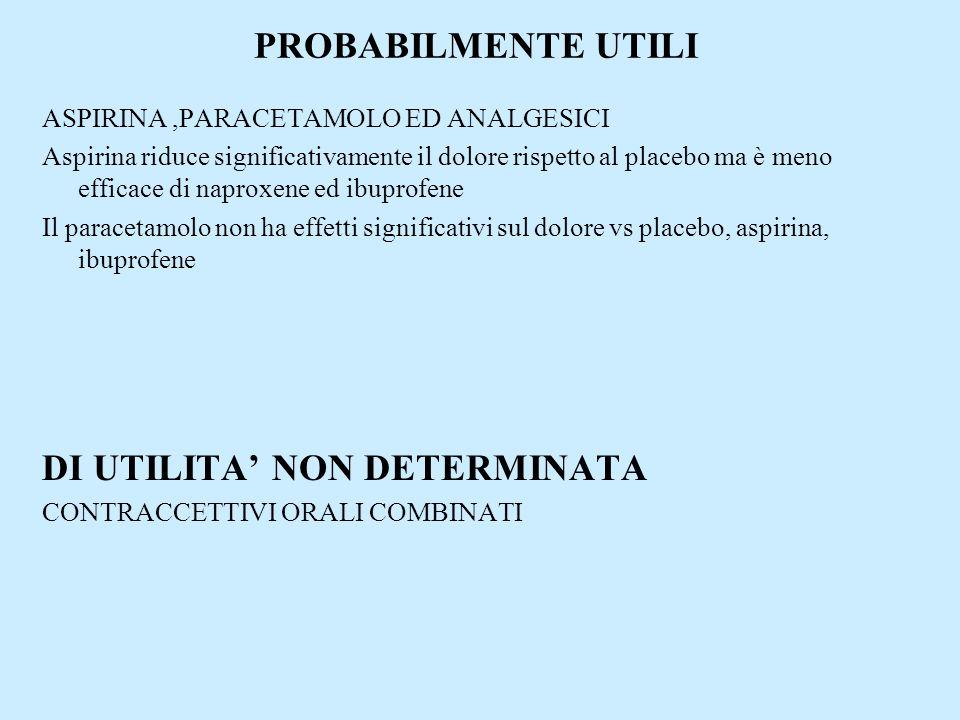 DI UTILITA' NON DETERMINATA