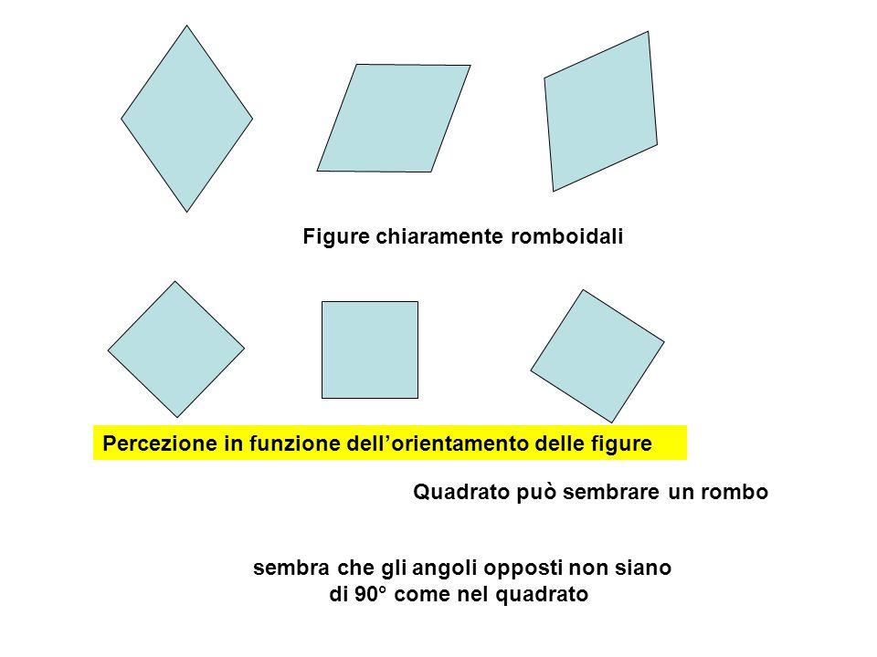 sembra che gli angoli opposti non siano di 90° come nel quadrato