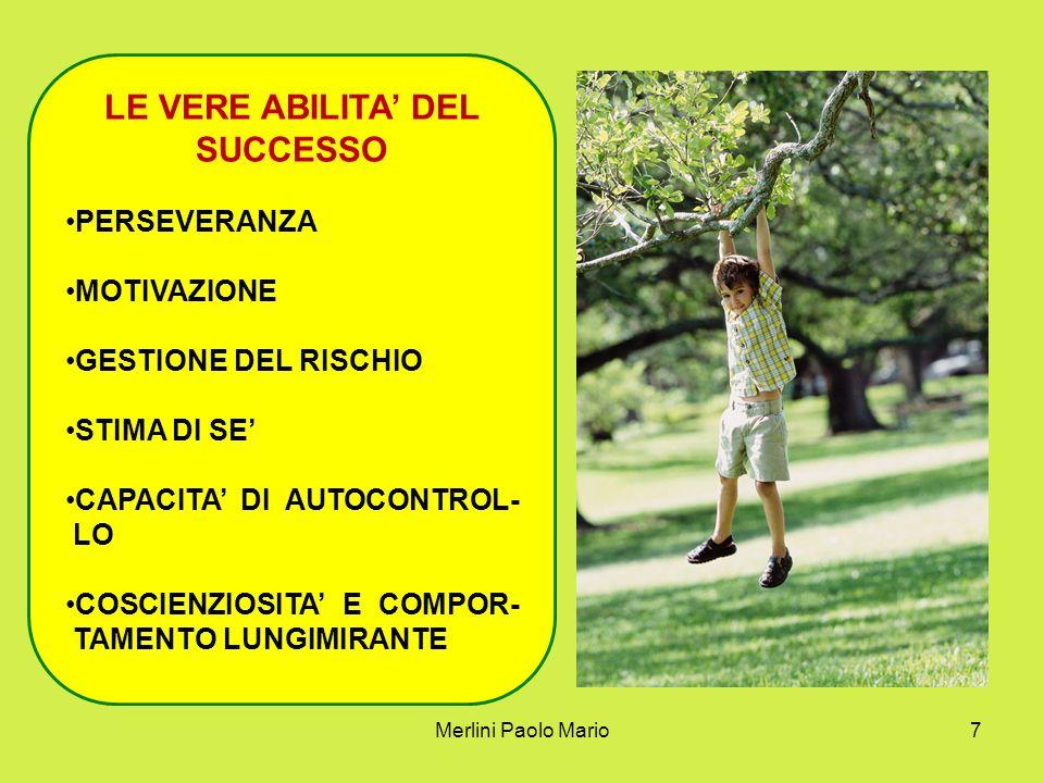 LE VERE ABILITA' DEL SUCCESSO
