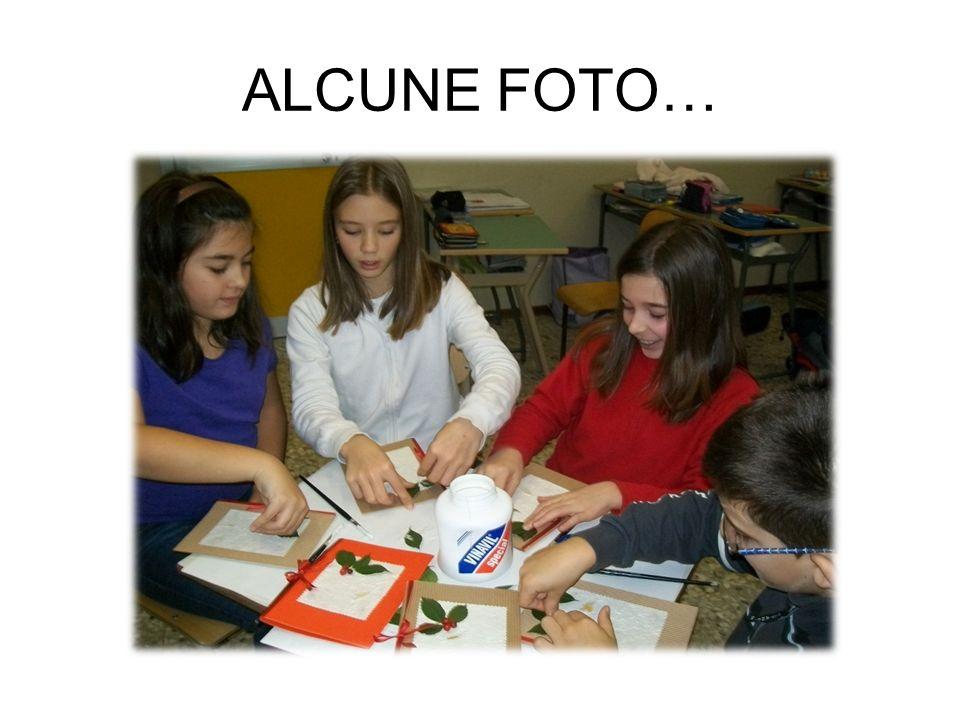 ALCUNE FOTO…
