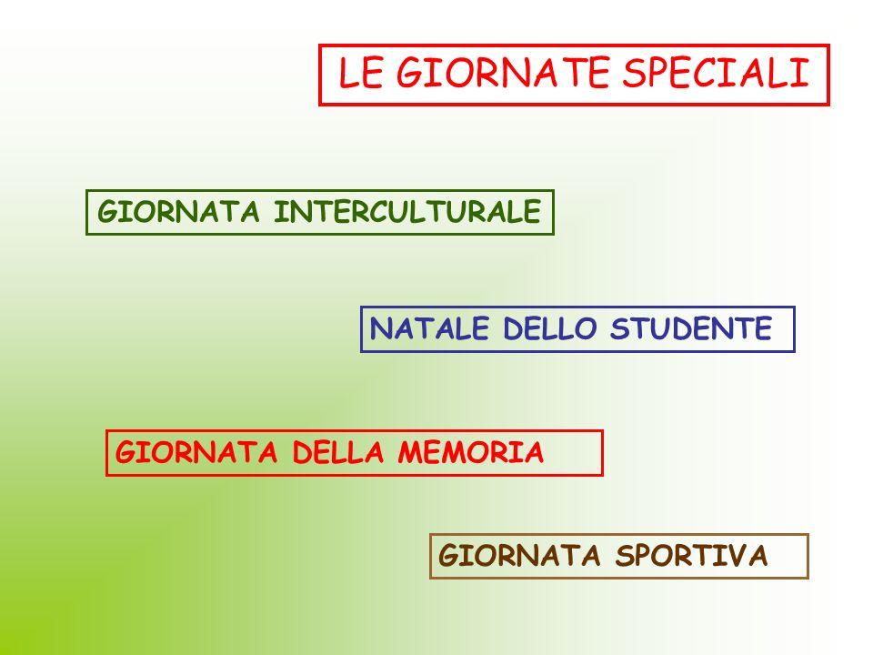 GIORNATA INTERCULTURALE