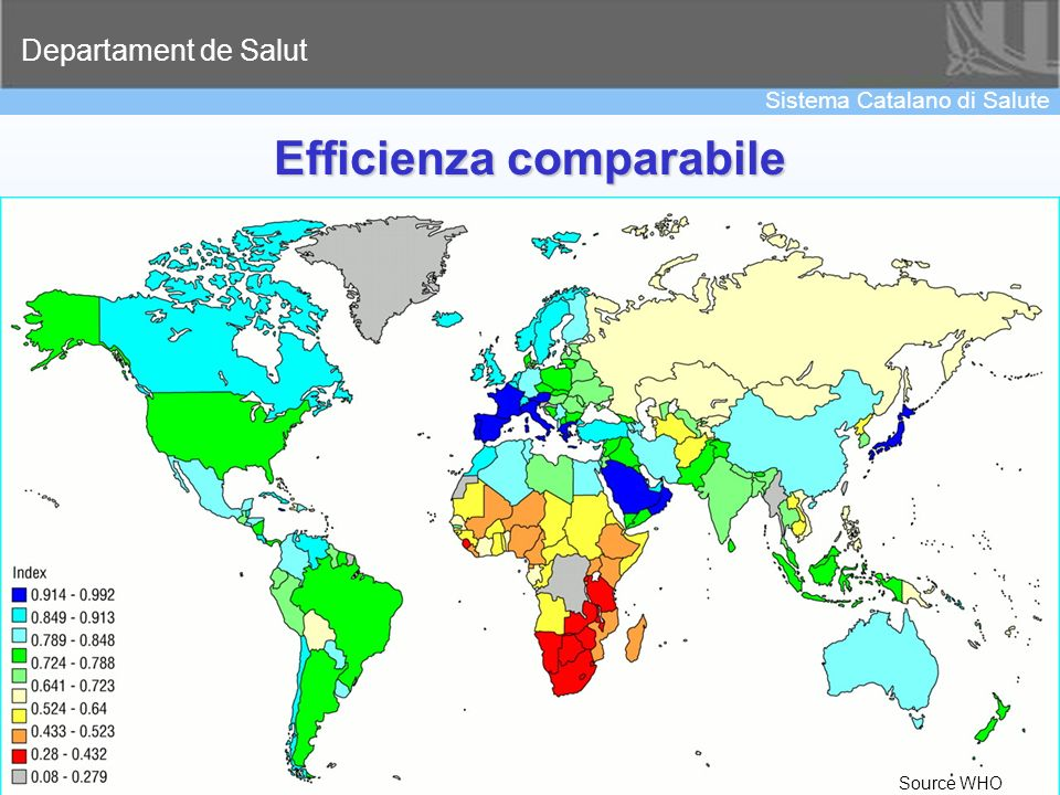 Efficienza comparabile