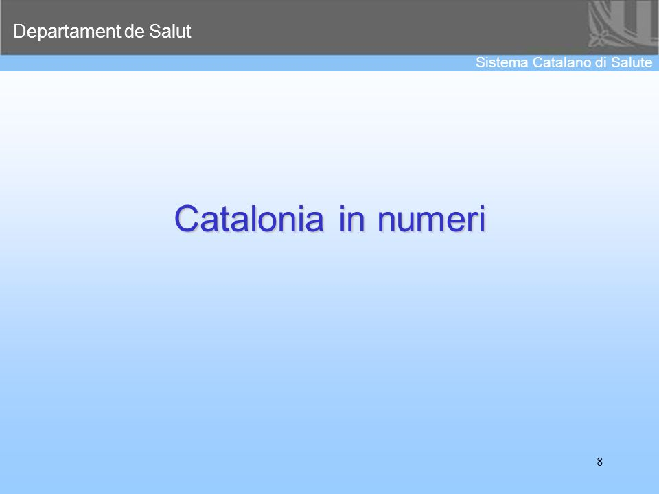 Catalonia in numeri