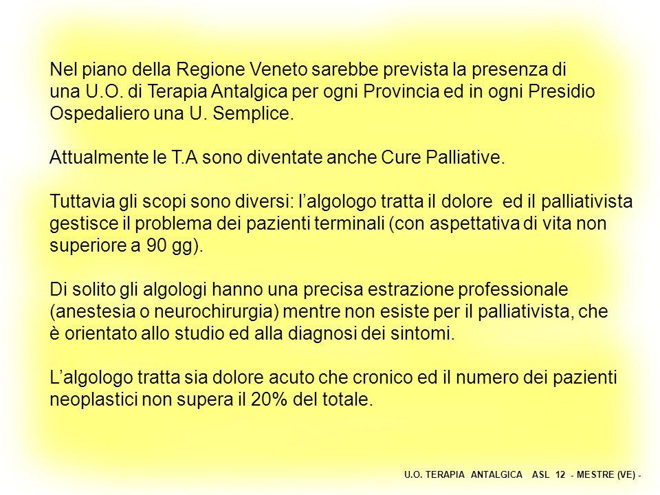 Nel piano della Regione Veneto sarebbe prevista la presenza di