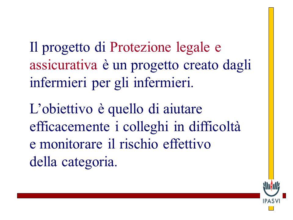 Il progetto di Protezione legale e assicurativa è un progetto creato dagli infermieri per gli infermieri.