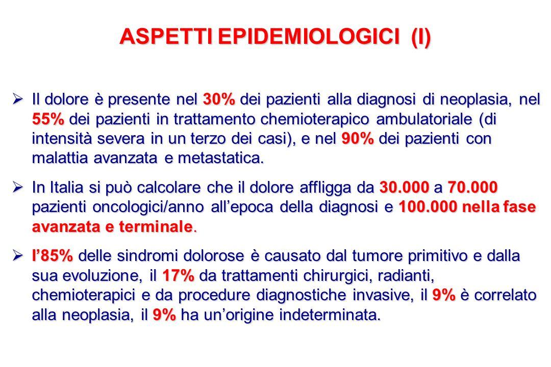 ASPETTI EPIDEMIOLOGICI (I)