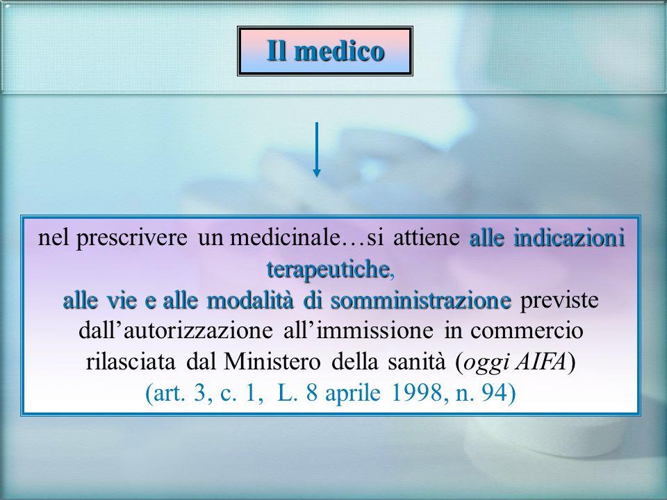 rilasciata dal Ministero della sanità (oggi AIFA)