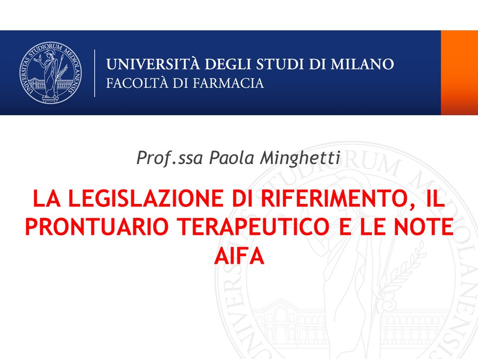 Prof.ssa Paola Minghetti