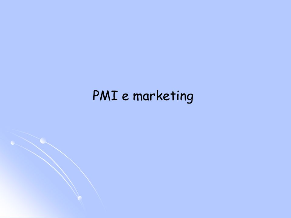 PMI e marketing