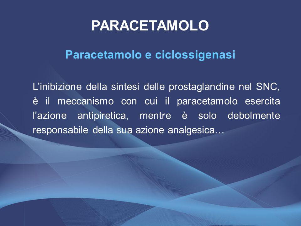 Paracetamolo e ciclossigenasi